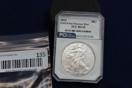2013 Silver Eagle - San Francisco Mint