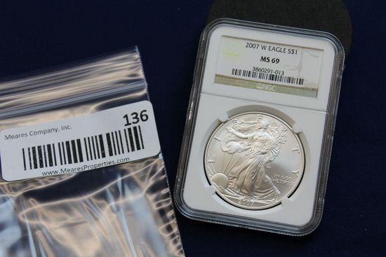 2007-W Silver Eagle