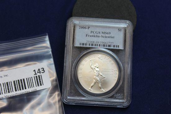 2006-P Franklin-Scientist Silver Dollar
