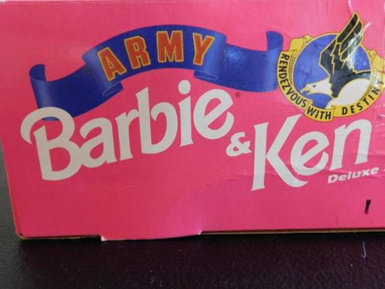 Ken and Barbie Army Dolls