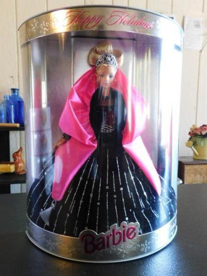 "Barbie ""Happy Holidays"""