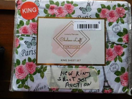 New King Sheet Set