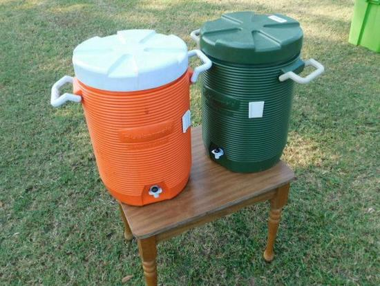 2 Ice Water Buckets