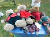 Lot of 5 Stuffed Animals