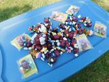 Lot of Raisin Toys
