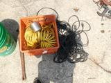 Buckets, Tools, Extensions Cords, Air Lines