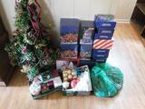 Lot of Christmas Trees, Houses, Balls, Etc.