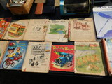 Large Lot of Books, Plates, Pictures, Etc.