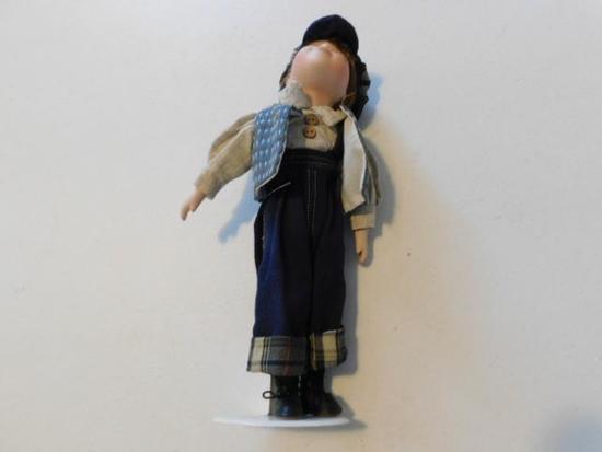 Boy Doll with Hat