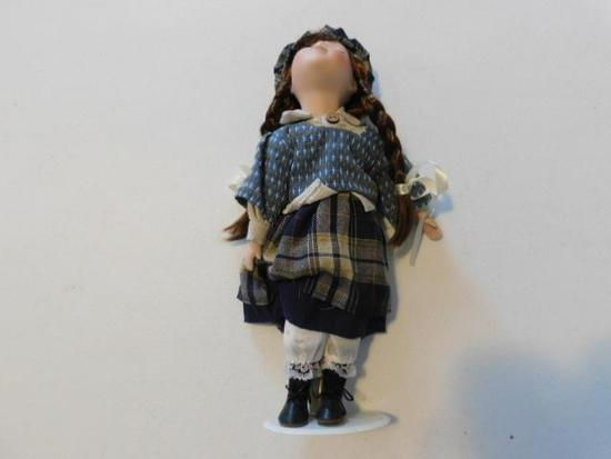 Girl Doll with Hat