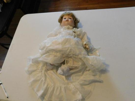 Limited Edition Doll with White Dress
