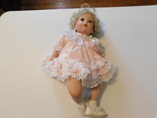 Pink Dress Doll by Robert