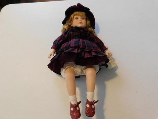 Sitting Pretty Doll