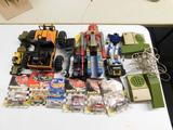 Lot of Misc. Toys, Parts, Etc.