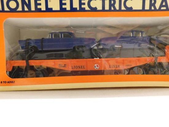 Lionel Line 8 Flat Car with Autos