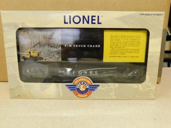 Lionel 6828 Flatcar with Harnischfeger Construction