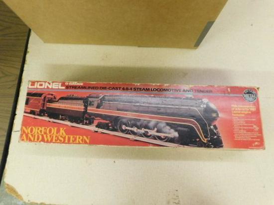 Lionel 4-8-4 Steam Locomotive
