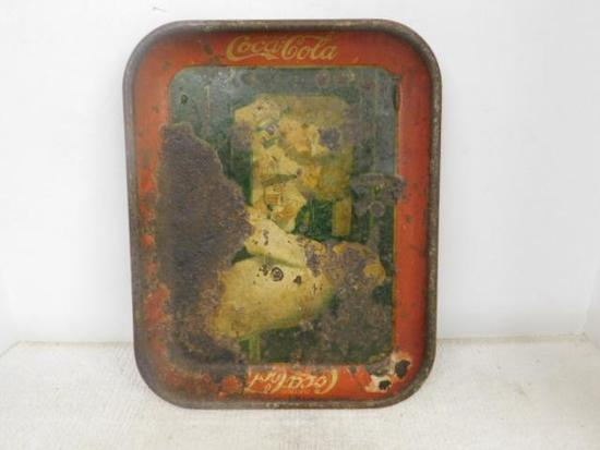 Coca-Cola Metal Drink Tray