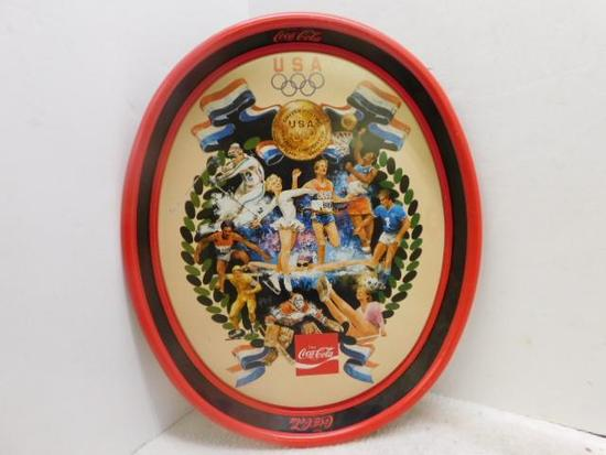 Coke Metal Drink Tray