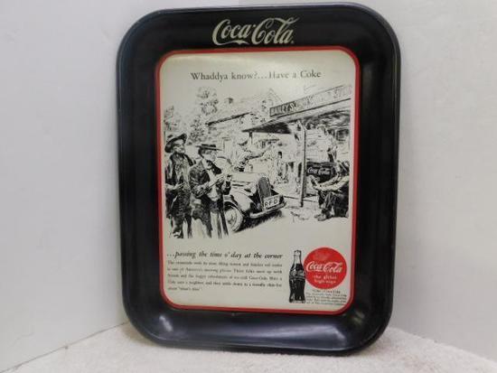 Coke Metal Drink Tray