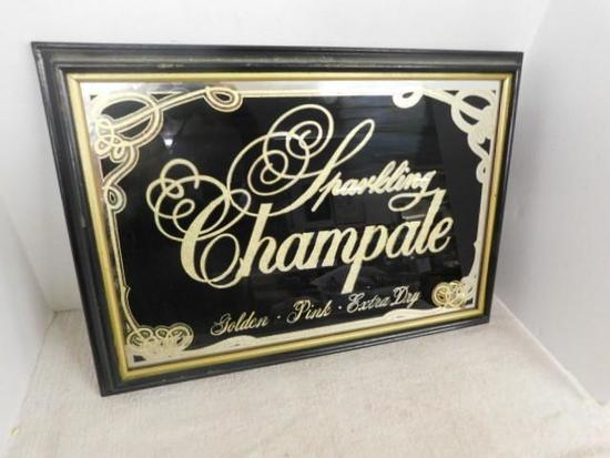 Sparkling Champale Sign