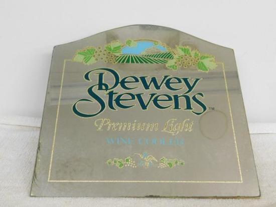Dewey Stevens Wine Cooler Sign