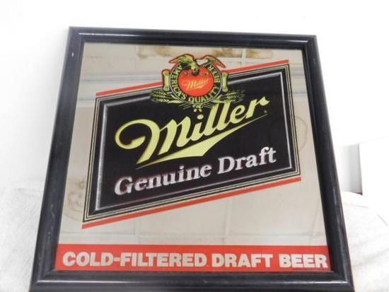Miller Genuine Draft Sign