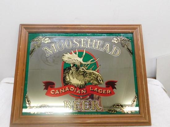 Moosehead Beer Sign