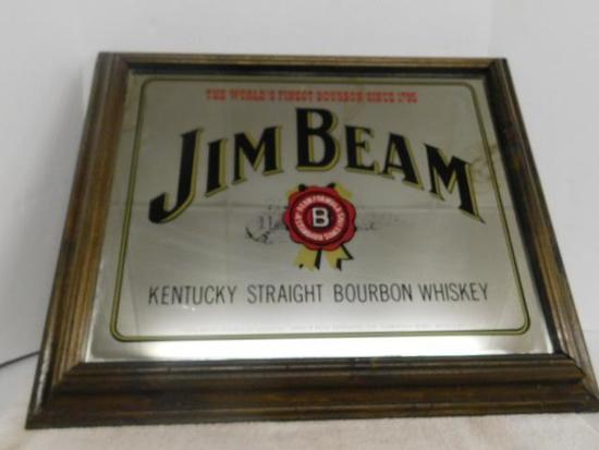 Jim Beam Liquor Sign
