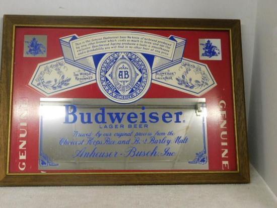 Budweiser Beer Sign