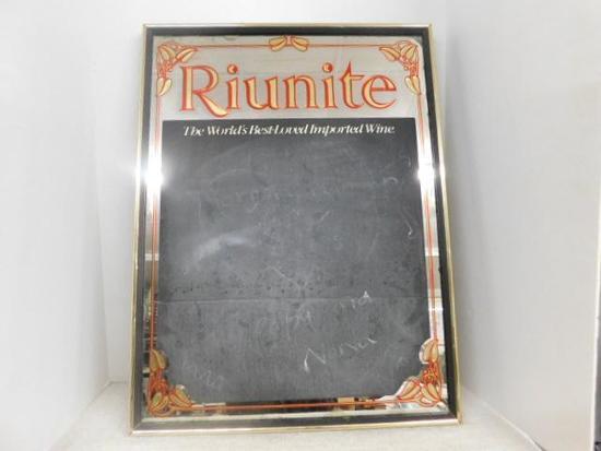 Riunite Wine Mirror with Chalkboard