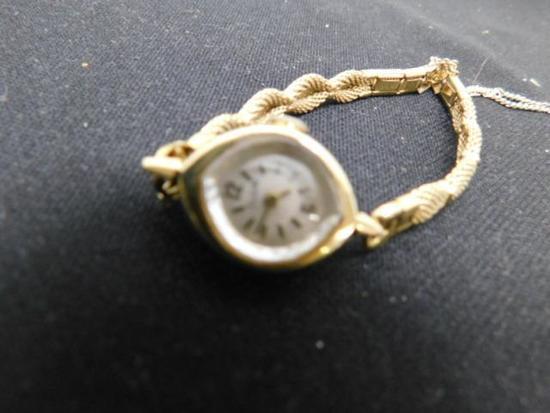 14K Ladies Vintage Watch