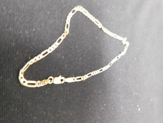 14K Yellow Gold Anklet