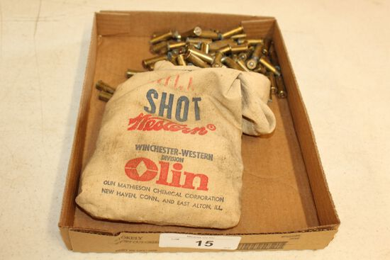 Winchester-Western Shot Bag Full of .38 Ammo