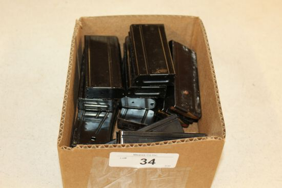 11- 30M1 Magazines with .30 Cal. Ammo