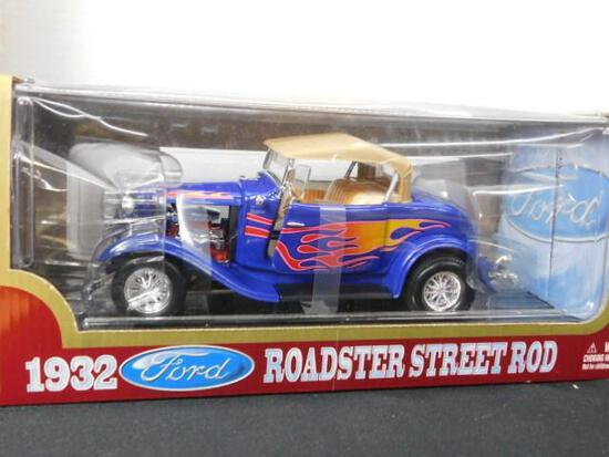 Diecast 1932 Ford Roadster Street Rod
