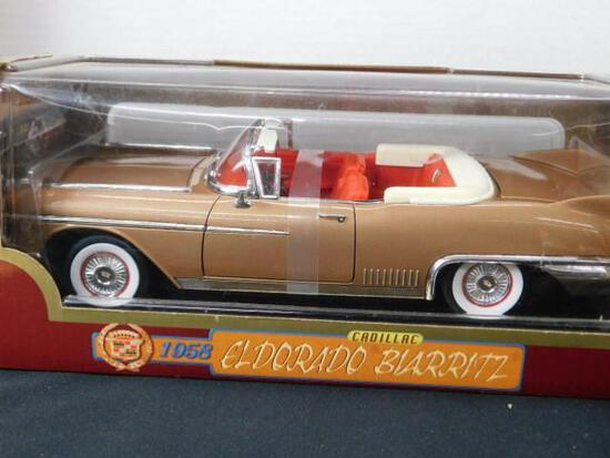 Diecast 1958 Diecast Cadillac Barritz