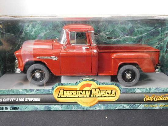 Diecast 1955 Chevy 3100 Step side Truck