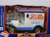 Diecast Pepsi Cola Delivery Truck Bank