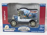 Diecast 1912 Ford Model T Reminington Bank
