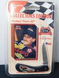 Davey Allison Case Knife and Card