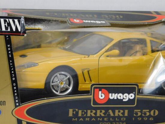 Diecast 1996 Ferrari 550 Maranello