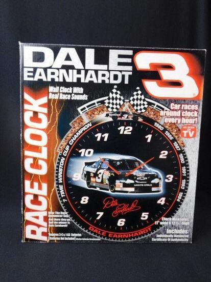 Dale Earnhardt Race Clock