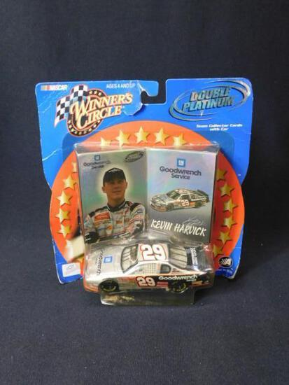 Kevin Harwick Cards and Diecast Car #29