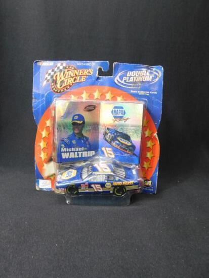Michael Waltrip Cards and Diecast Car #15