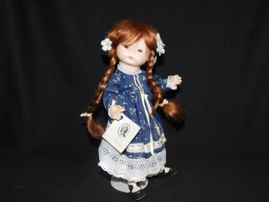 Doll and Stand made by Marie White