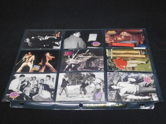 """Lot of 9 Elvis Collector Cards """"The Elvis Collection"""""""