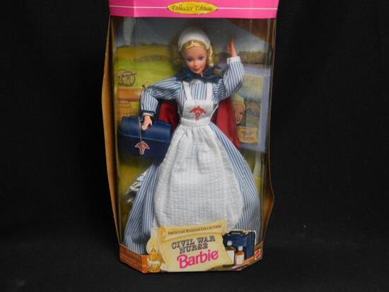 1995 Civil War Nurse Barbie