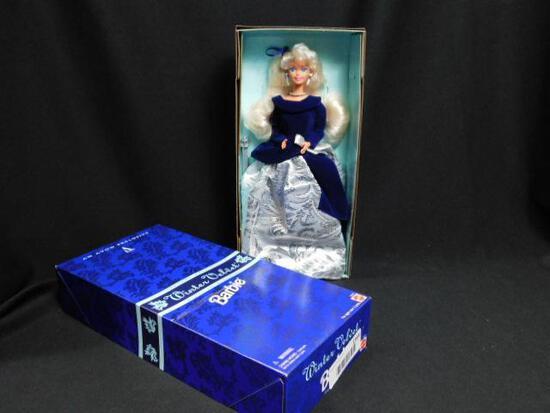 1995 Avon Winter Velvet Barbie