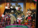 1998 Holiday Sisters Barbie Stacie And Kelly